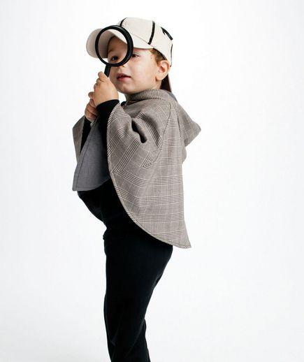 Detective costume via @Real Simple