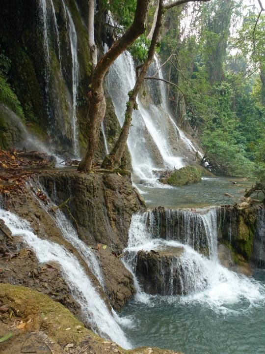 Our own private falls | 2014 Trip Around The World | Off Exploring #Fabletics #WishItSweeps