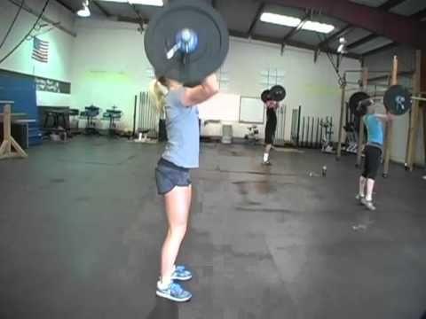 CrossFit - WOD Demo: 110831 at CrossFit Santa Cruz http://leonidasfitness.com/como-disenar-exitosos-entrenamientos-de-alta-intensidad-para-perder-grasa-corporal-y-sentirse-invencible/