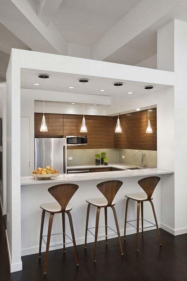 Барные стойки для маленькой кухни.