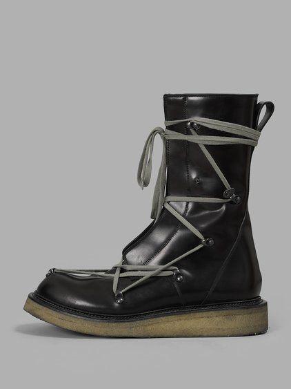 RICK OWENS Rick Owens Men'S Lace Up Creeper Boots. #rickowens #shoes #boots