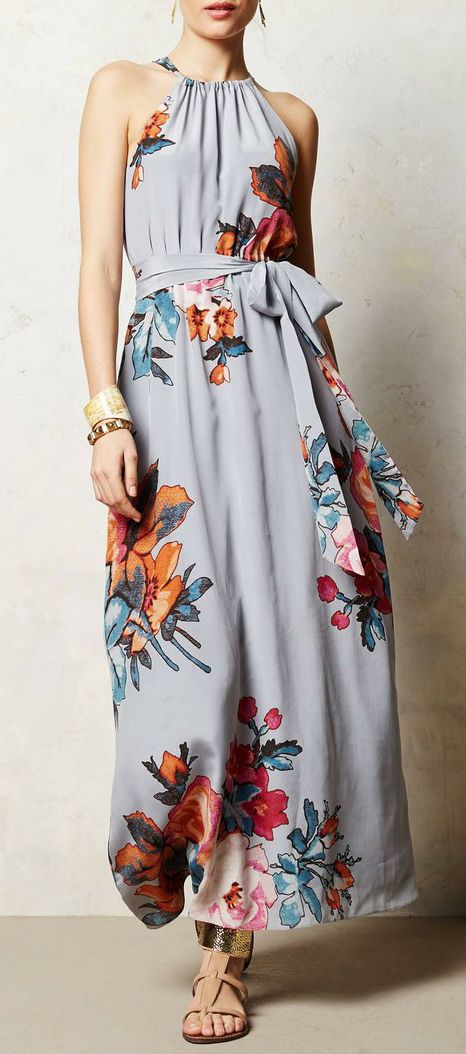 Anthropologie  Three-Act Maxi Dress #wishlist #mystyle