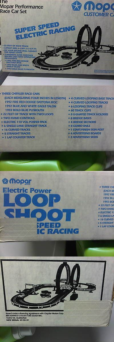 Pre-1970 2618: Mopar Loop Shot * 1992 * Rare *Electric Slot Car Racing Set* New In Box * Sealed -> BUY IT NOW ONLY: $775 on eBay!