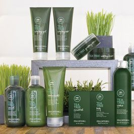 LOVE LOVE LOVE Paul Mitchell's Tea Tree line of products. Its smells good and feels real nice on your scalp.