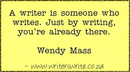 Quotable – Wendy Mass - Writers Write