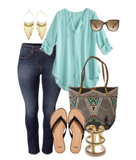 Love the color and style of the top. Love the bag and jeans too. I know I saved this top twice, but I love how it can be dressed up or down.