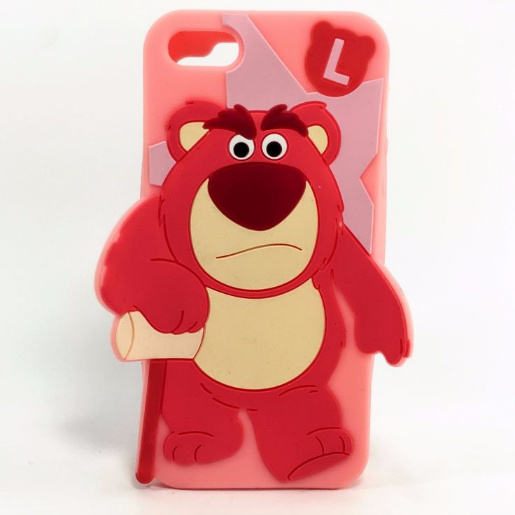 Funda Silicon Iphone 6 6s Oso Lotso Goma Suave - $ 159.99 en MercadoLibre