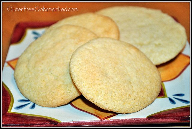 Soft and chewy GLUTEN FREE Sugar Cookies by Kate Chan, via Flickr (these are the bomb!  made a cookie pizza with it & everyone raved)