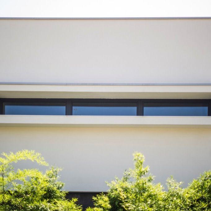 Villa a Carpi (MO) Finestre in legno-alluminio A40