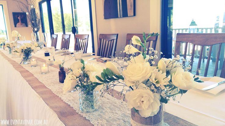 Vintage Table Centrepieces & Decorations, vintage wedding