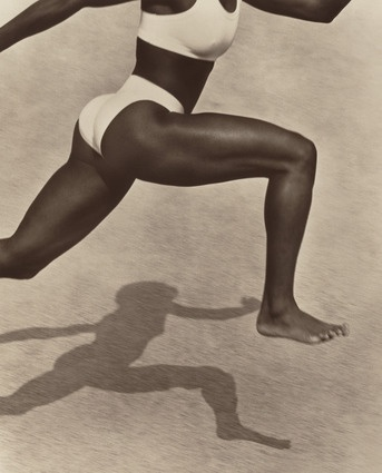 Jackie Joyner-Kersee (by Herb Ritz)  I see the power of a woman!