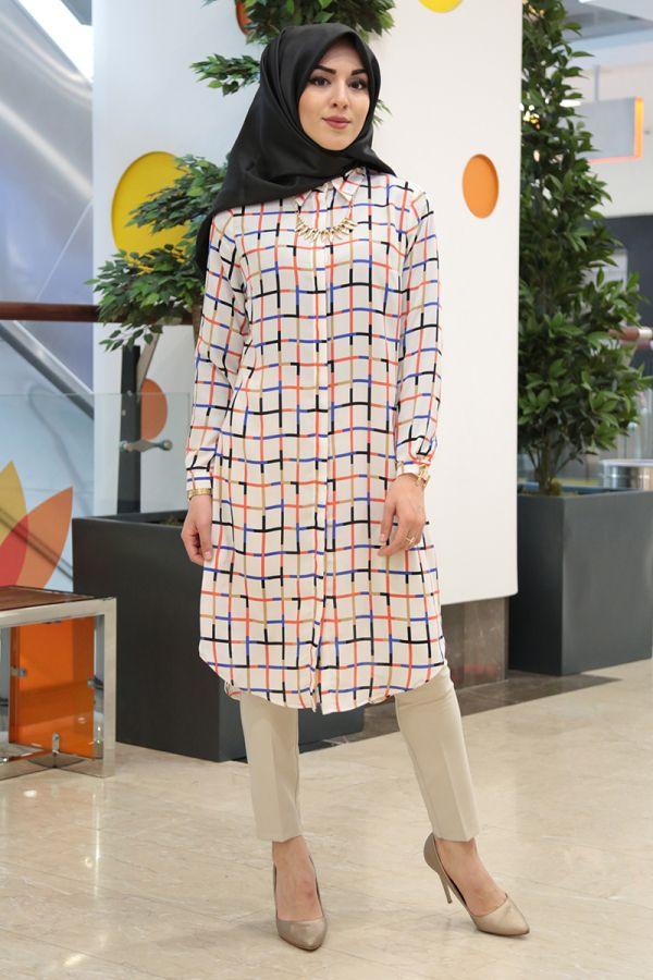 c3755f153e1df Tunik ve Tunik modelleri Türkiye'nin en kaliteli tesettür kadın giyim sitesi  Modasena.com'da.