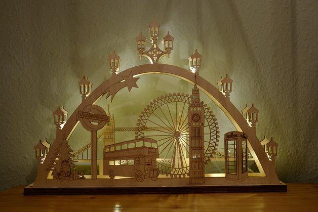 Modern candle arch 'London' created by coucoufou - available on DaWanda https://de.dawanda.com/shop/coucoufou