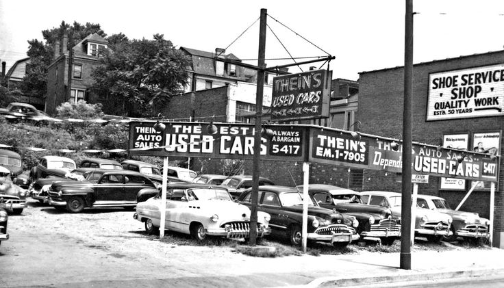 Thein's and Agnew's Used Car Lots – Pittsburgh Pennsylvania | The Old Motor