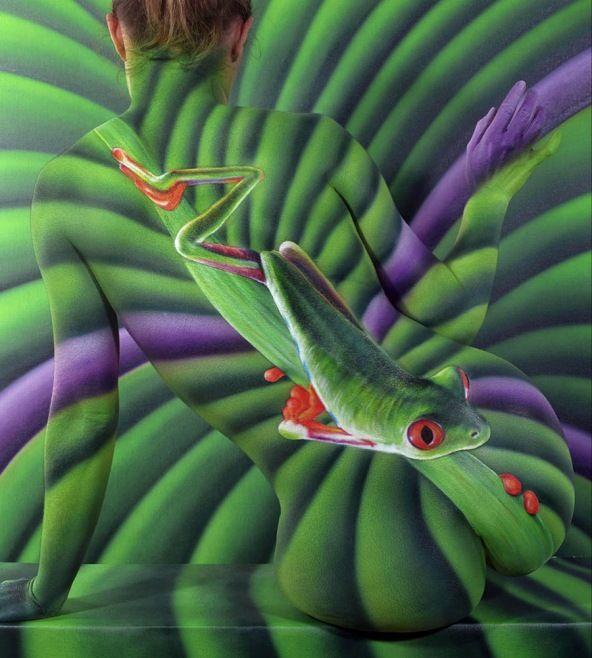 Dünyanın En Şaşırtıcı Vücut Boyama Sanatı Eserleri - Body Art / Vücut Sanatı, alternatif sanat türlerindendir.