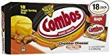 Combos Cheddar Cheese Pretzel Snack 1.8 Oz Bag  18 count