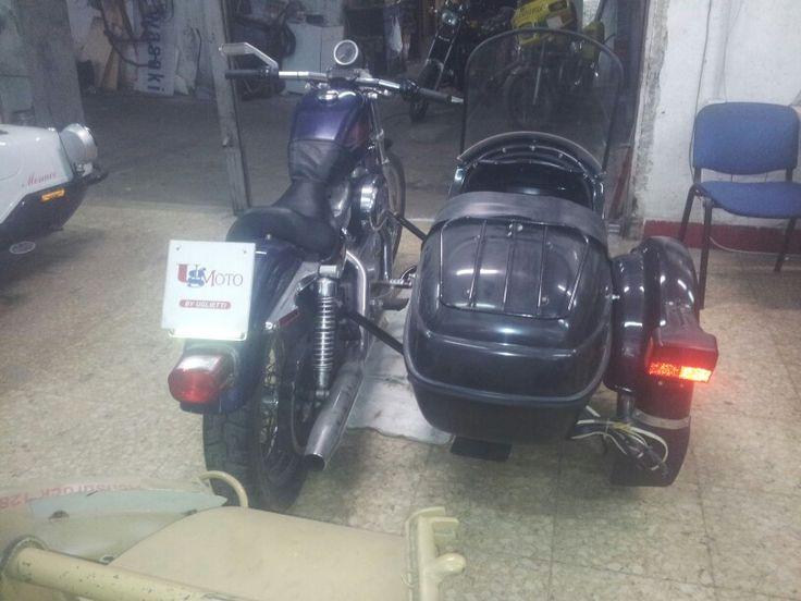 Sidecar hd 883