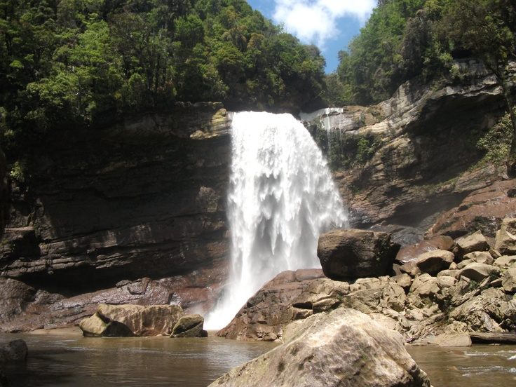 The Magatini Falls on the beautiful Charming Creek Coal Mine walk way, hands down the most awesome place I've been...yet! great way to spend New Years day 2012 #greatwalker