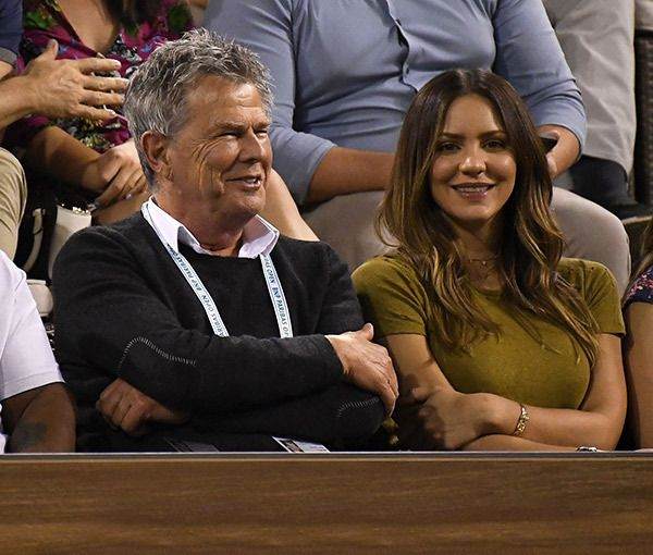 Boyfriend And Girlfriend Couple David Foster And Katharine Mcphee