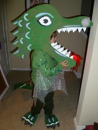 Как сшить театральный костюм дракона