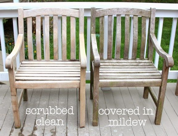 """Can you believe that our table and chairs….. ….looked like this a short time ago? With teak outdoor furniture, there are two directions you can go – the grey and weathered """"Restoration Hardware"""" look: {Restoration Hardware} ….or the wood tone look like this set from Ballard Designs. {Ballard Designs} Whether you are a fan of...Read More »"""