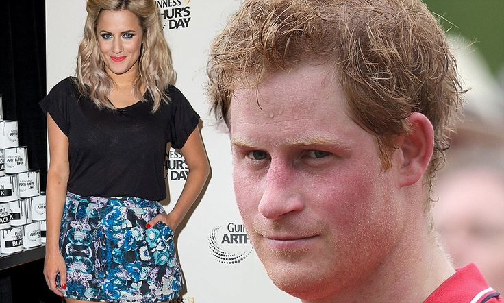 7/12/14.   GIRL ABOUT TOWN: Prince Harry calls Caroline Flack in his hour of need