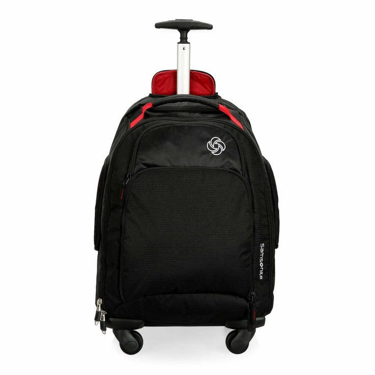 This rolling backpack is made for a life on-the-move. For travel or school this staple is a must-have to carry laptop and essentials.