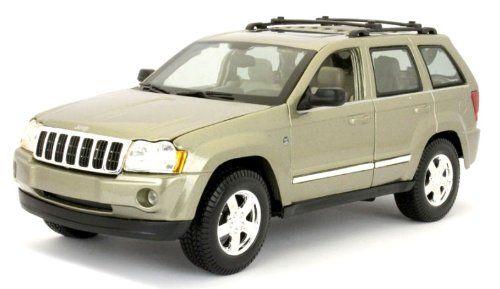 Maisto Special Edition - Jeep 2005 Grand Cherokee Model Car 1:18 - Gold (31119)  Manufacturer: Maisto Enarxis Code: 018116 #toys #Maisto #miniature #cars #Jeep #Cherokee