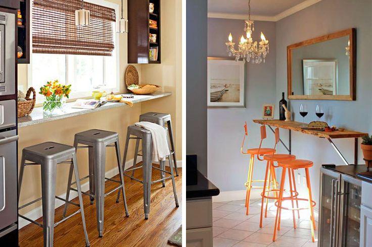 79 best cocina images on pinterest kitchen modern new - Cocinas con barra ...