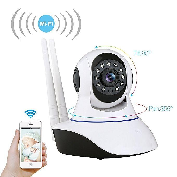 White Label Camera De Surveillance 2 Mp Ip Wifi Hd Infrarouge