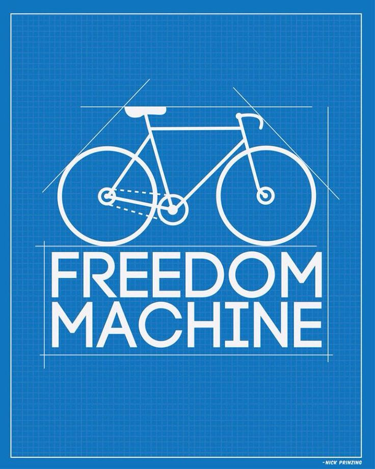 Bike = freedom machine!