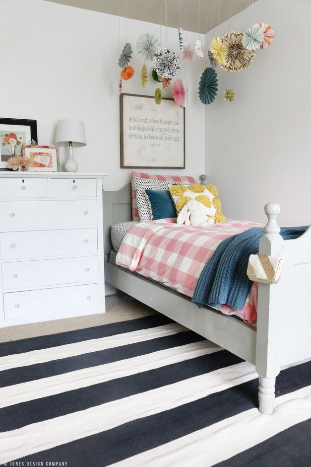 A Classically Cute Little Girl's Bedroom Makeover (it's Audrey's and it's  finally done