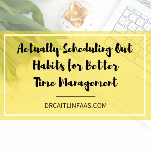 how to become better at time management