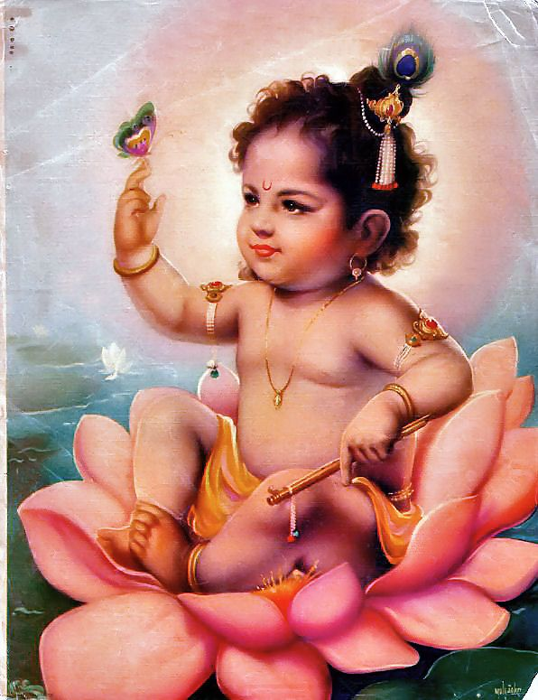 """Parīkṣit Mahārāja recommends that one hear about Kṛṣṇa's childhood activities, which are more attractive than the activities of other incarnations, such as Matsya, Kūrma and Varāha."" -SB 10.7.1-2p"