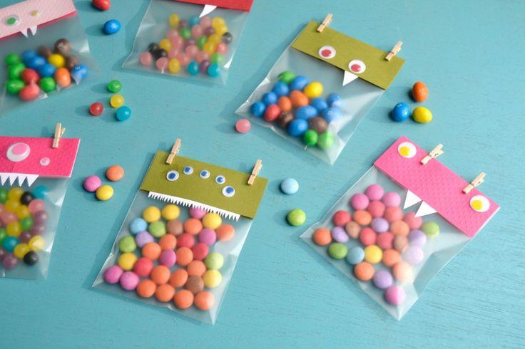 Diy Halloween : Les sacs de bonbons monstres