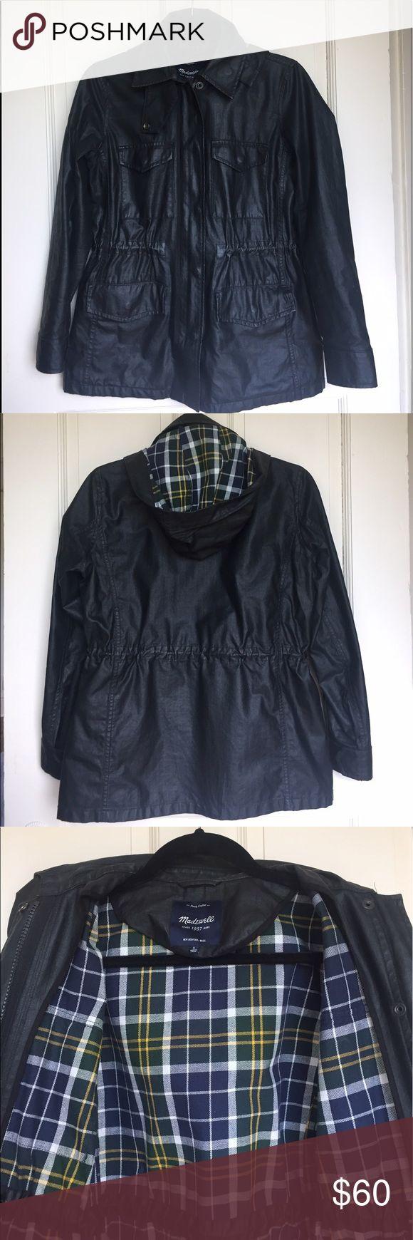 Selling this Black madewell rain jacket on Poshmark! My username is: hrbelanger. #shopmycloset #poshmark #fashion #shopping #style #forsale #Madewell #Jackets & Blazers