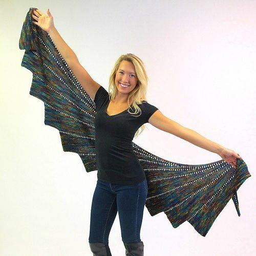 Ravelry: Arabella Bamboo Shawl pattern by SKEINO LLC