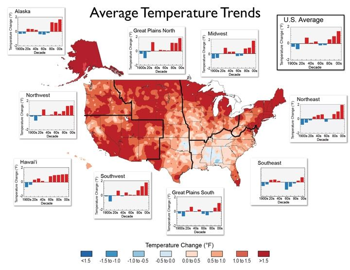 Best Sustainability Images On Pinterest Sustainability - Us climate change interactive map by regions