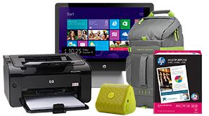 HP Rewards, just for replacing your Ink cartridges...sign up today, and snag these ABSOLUTELY free deals for doing everyday office tasks! Offer 2 of 3 for August 2015