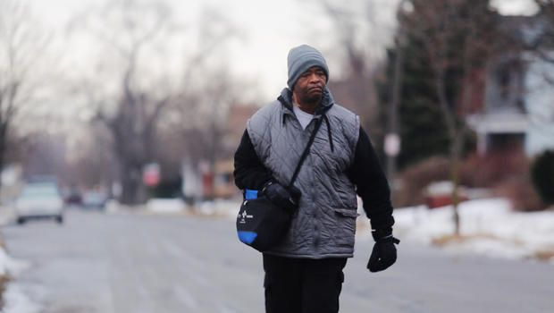More than $100K raised for man who walks nearly 21 miles to work. Detroit native James Robertson's car broke down about 10 years ago and bus service is limited, so most of his trip to work is on foot Great story :)
