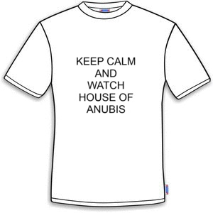 To może Cię zainteresować! Koszulka Dom Anubisa keep calm and watch house of anubis o 22,50 złotych taniej.