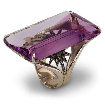 Amethyst Ring by H. Stern, Brazil