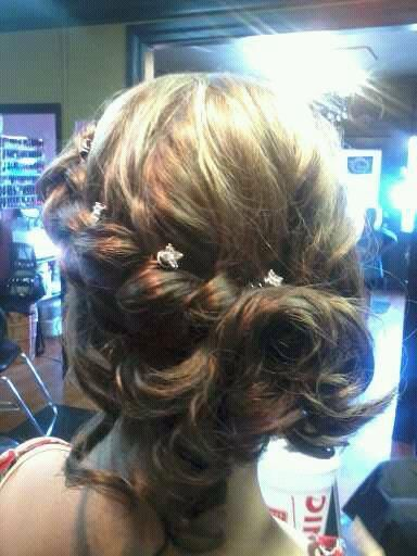 side updo wedding formal style prom hair
