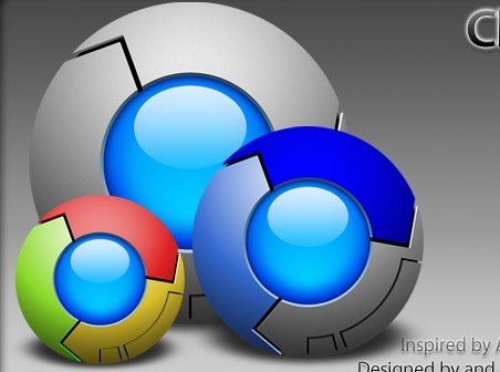 how to change google chrome icon on mac