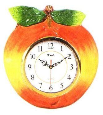 PEACH 3 Dimensional Wall Clock BRAND NEW! KMC/KK Peach,http