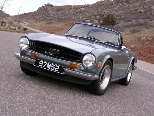 1972 Triumph TR6.  This would be a great 40th birthday gift for me!