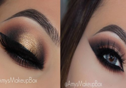 Tutorial make up eyes beautiful with amysmakeupbox