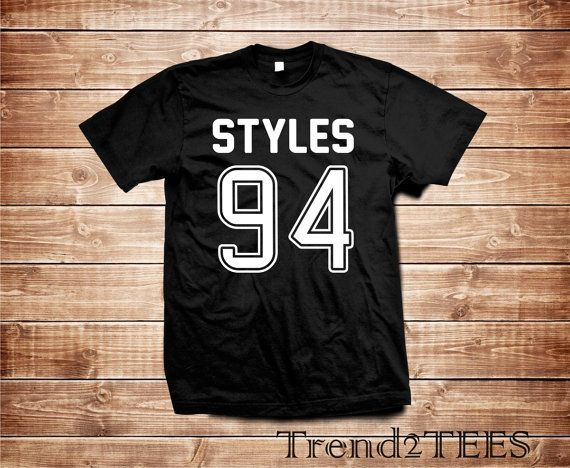 One direction Harry Styles 94 t-shirt by Trend2Tees on Etsy
