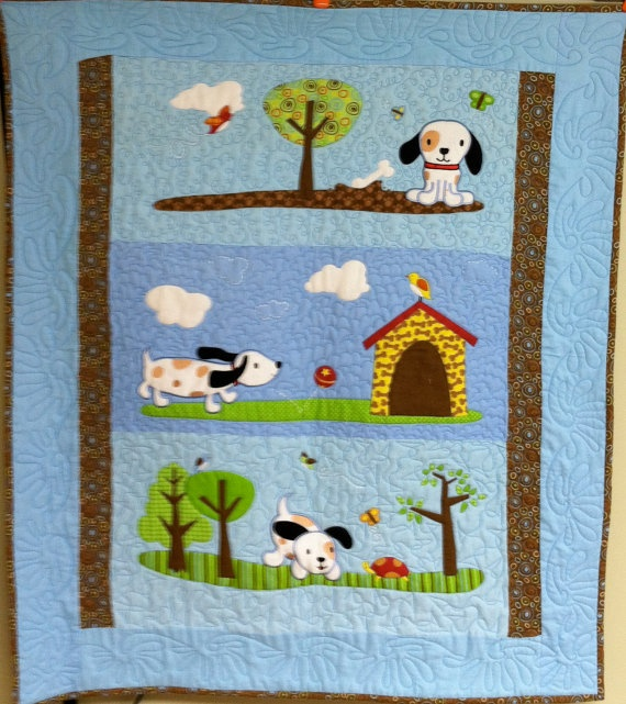 Baby Boy Puppy Quilt Being A Quilter Baby Quilts Quilts Baby