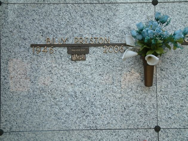Billy Preston Gravesite
